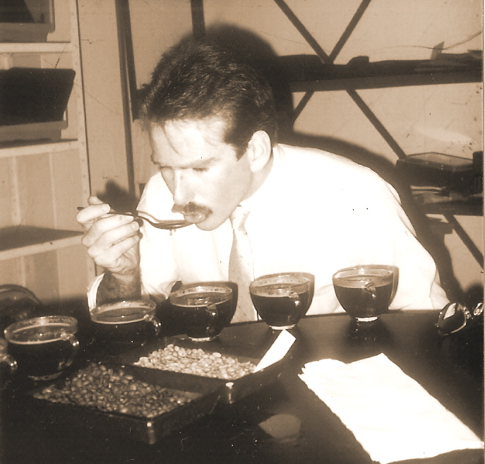 coffee cupping 1985